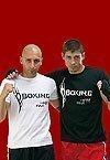 T-shirt de boxe - Noir - Taille L
