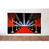 Red Carpet Scene Setter - Hollywood Movie Premiere Night Photo Backdrop