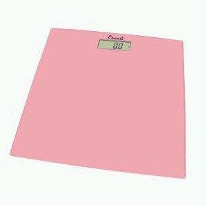 Square Glass Platform Bathroom Scale