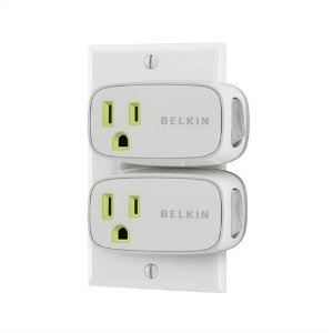 2 Pack Belkin Power Conserve Switch F7c016q - Retail Packaging by Belkin Components