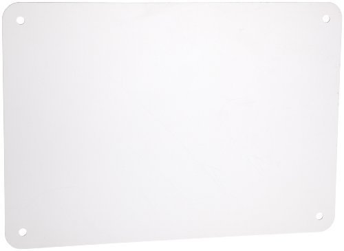 Brady White Color Blank Sign