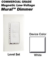 - MLM06-1LW Leviton Decora Mural Level Set Dimmers