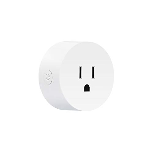 iStrong Smart Plug Wireless Mini Socket Outlet Compatible with Alexa and Google Assistant IFTTT No Hub Required with Remote Control Your Devices from Anywhere