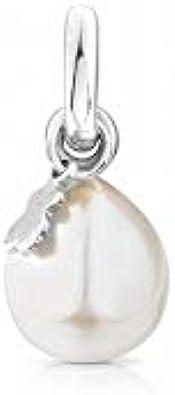 TOUS Tiny - Colgante de Plata de Primera Ley Sin Cadena - Motivo: 0,9-0,95 cm