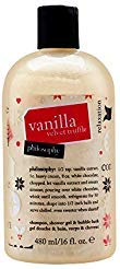 Philosophy Vanilla Velvet Truffle By Philosophy for Women - 16 Oz Shampoo Shower Gel & Bubble Bath, 16 Oz