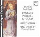 Buxtehude: Jubilate Domino - Cantatas, Pr?udes & Fugues by Deller Consort, Raphael Perulli, Michel Chapuis (0100-01-01)