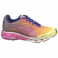 PUMA Women's Bioweb Elite Plus Dipdye Running Shoe,Beetroot Purple/Sunny Lime/Spectrum Blue,6 B US