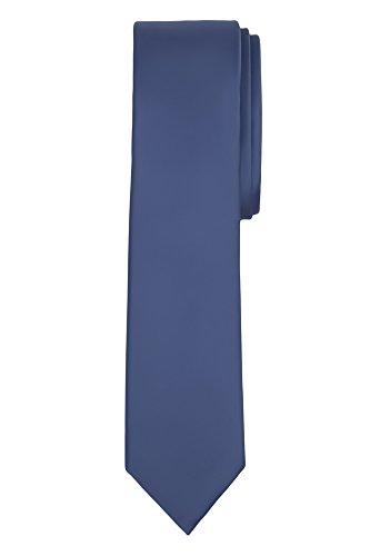 steel blue ties for men - 4