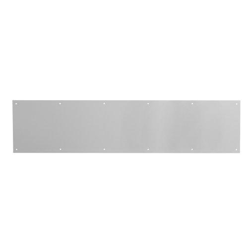 Prime-Line Products J 4616 Door Kickplate, 8-Inch x 34-Inch, Satin Aluminum Aluminum Door Kick Plate