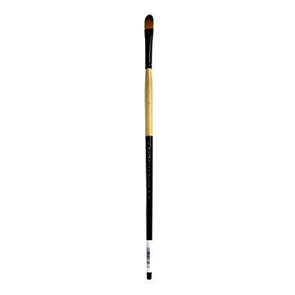 Dynasty Black Gold Series Long Handled Synthetic Brushes 6 filbert - Handled Filbert