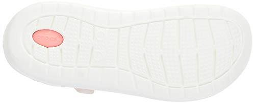 m4 w5 pink Slip Size M4 Pink Unisex w5 Classic white Crocs Clog On Literide Barely txvnPwF