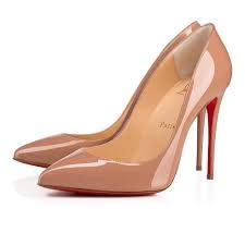 Christian Louboutin Pigalle Follies Nude Pumps Size 35.5 New