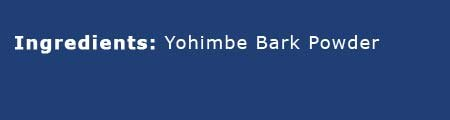 Yohimbe bark powder (Corvanthe yohimbe) 1lb