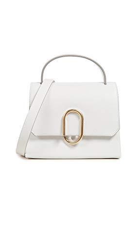 3.1 Phillip Lim Women's Alix Mini Top Handle Satchel, Antique White, One ()