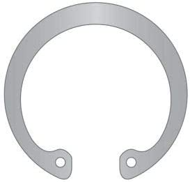 DHO-016-SS Stamped 15-7//17-7 Stainless Steel Pkg of 40 DIN 472 16mm Internal Housing Ring
