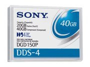 DDS-4 Data Cartridge 20/40GB 4mm 150m Tape Media by Sony