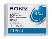 DDS-4 Data Cartridge 20/40GB 4mm 150m Tape Media by Sony