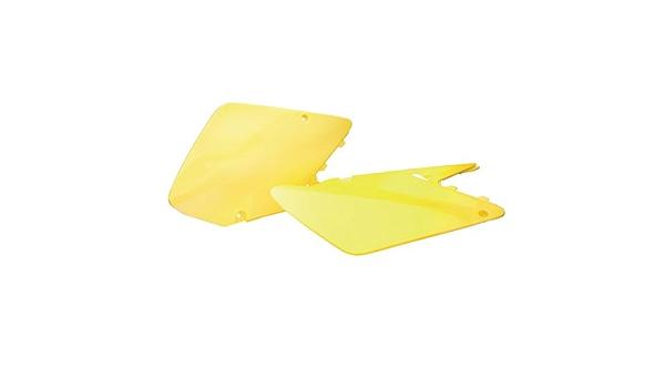 Acerbis Side Panel Number Plates Yellow Suzuki RM250 2001-2002