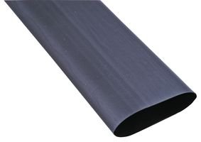 Splash Resistant 1 Piece 3:1 0.187 SCL-3//16-0-STK/-/Heat Shrink Tubing 4.8 mm Black 1.2 m 4 ft