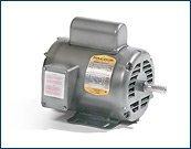 Baldor L1405T General Purpose AC Motor, Single Phase, 182T Frame, OPEN Enclosure, 2Hp Output, 1725rpm, 60Hz, 115/230V (2hp Ac Motor)