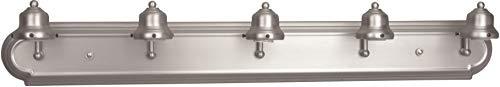 Craftmade 11736BN5 Racetrack Arch Arm Vanity Wall Lighting, 5-Light, 300 Watts, Brushed Satin Nickel (36