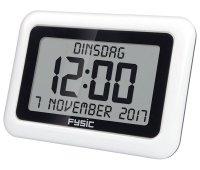 Fysic Reloj Digital de Pantalla Extra Grande con Fecha y Hora