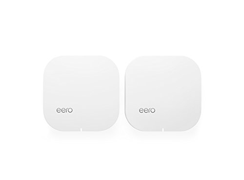 eero Home WiFi System (Pack of 2) - 1st generation, 2016 by eero