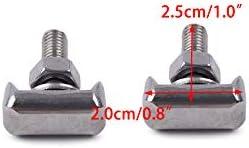 eastar|ciciTree 2 pi/èces Connecteurs de borne de c/âble de Batterie Boulon en T adapt/é pour Audi Cadillac Chevrolet GMC Saturn VW