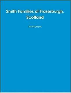 Book Smith Families of Fraserburgh, Scotland
