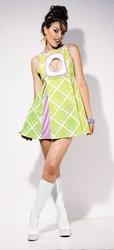 (Appletini Mini Adult Costume - Medium)