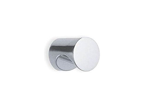 Finger Grip Knob in Brushed Chrome Finish (Set of 10) (0.75 in.)