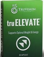 TruVision Health ~ TruElevate ~ 30 Capsules ~ Supports Optimal Weight & Energy by TRUVISION HEALTH by TRUVISION HEALTH