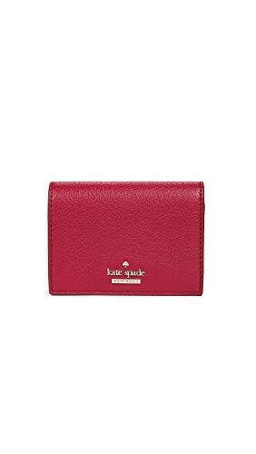 Kate Spade New York Women's Blake Street Dot Annabella Card Case, Heirloom Red, One Size