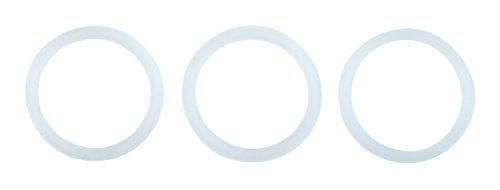 Stovetop Espresso Maker Gasket - Primula Replacement Silicone Gaskets for 6 Cup Size Aluminum Espresso Pots, Set of 3