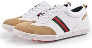 WSHZ Men's Athletics Golf Shoes,Men's Sneaker,Men's Tour-S-Previous Season Style Golf Shoes,White,42