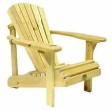 The Bear Chair Kid's Moskoka/Adirondack Chair Pine