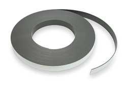 Industrial Grade 2VAJ5 Flexible Magnet, 100 Ft x 2 In, Indoor