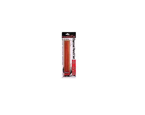 General Charcoal Pencil Kit 557S