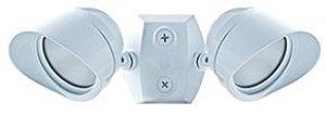 RAB Lighting LED Bullet Flood 2x12W Adjustable Dual Heads White Cool