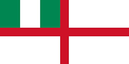 al Ensign of Nigeria 1960 | Landscape Flag | 2.16m² | 23sqft | 100x200cm | 40x80inch - 100% Made in Germany - Long Lasting Outdoor Flag ()