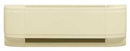 "25"" Electric Baseboard Heater, Almond, 500W, 120V"