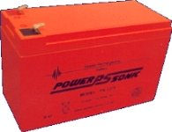 12ah battery 12v sealed lead acid powersonic amazon co uk