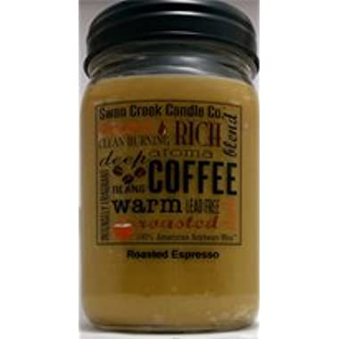 Swan Creek Roasted Espresso 24 Oz Jar Candle