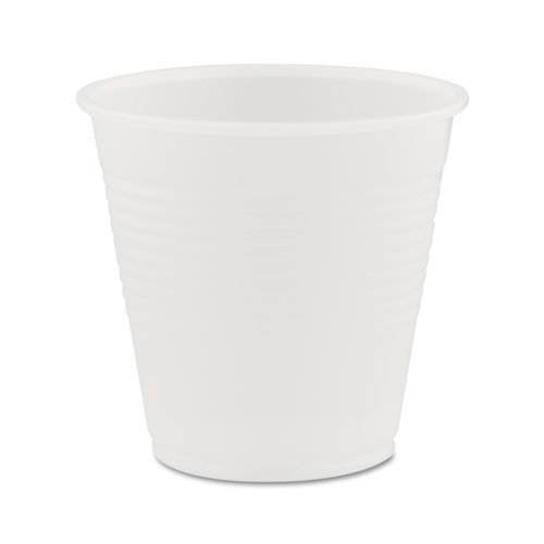 Dart Y5CT Conex Galaxy Polystyrene Plastic Cold Cups 5oz 100 Sleeve 25 Sleeves/Carton