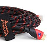 Aurum Ultra Series - High Speed HDMI Cable (25 feet) With Ethernet - CL3 Certified - Supports 3D and Audio Return Channel