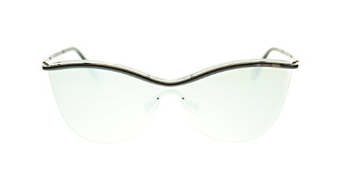 TIFFANY & CO Butterfly Women's Sunglasses TF3058 60016G Black/Light Grey Mirror Silver 35mm - Sunglasses Tiffany Butterfly