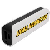NCAA Iowa Hawkeyes APU 1800GS USB Mobile Charger, White