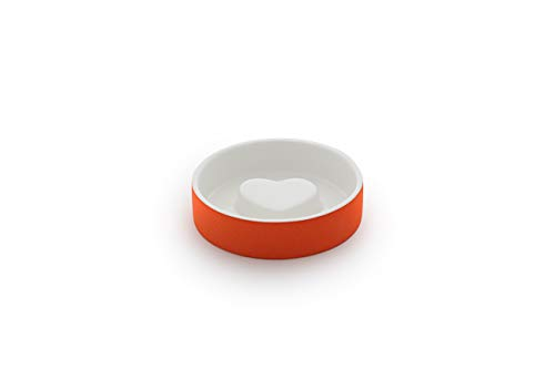 Magisso Dog cat Bowl Cooling Ceramic Technology | Naturally Cooling Design | Keeps Water Chilled and hygienic for Hours (Small, - Cat Elegance Bowl
