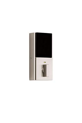 Kwikset 99250-206 Kevo 2nd Gen Contemporary Square Single Cylinder Touch-to-Open Bluetooth Deadbolt Satin Nickel by Kwikset (Image #1)