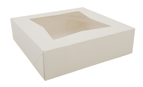 (Southern Champion Tray 24133 White Paperboard Window Bakery Box, 9